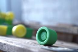 Die TensiBall Caps ist ein Reaktions-Spielzeug für Jung und Alt