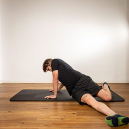 Der Slider- Rumpftraining für eine starke Wirbelsäule