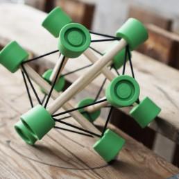 Der TensiBall - Trainings-Spielzeug für Schnelligkeit, Beweglichkeit, Fingerfertigkeit, Koordination und Entspannung