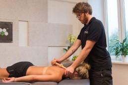 Trigger Master Behandlung Brustwirbelsäule BWS