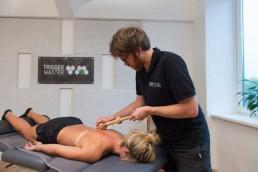 Massagetechnik - Brustwirbelsäule mit dem Trigger Master One