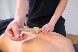 Massagetechnik - Querdehnung mit dem Trigger Master One